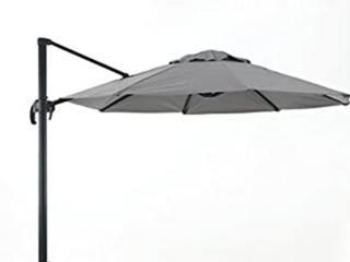 9 8ft Outdoor Canpoy Umbrella  Gray  Umbrella only   C3