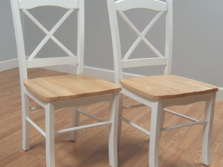 Country Cottage Dining Chairs  Set of 2   E1