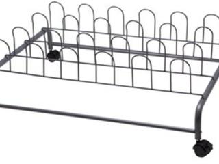 Suprima Rolling Under Bed Shoe Rack  E1