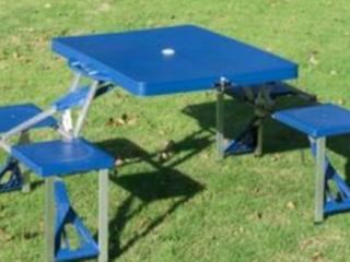 Outsunny Portable Foldable Picnic Table  E2