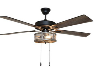 Carbon loft Shetteler 5 Blade Ceiling Fan  A1