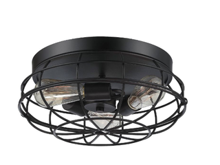 3 light Ceiling light In English Bronze  A1