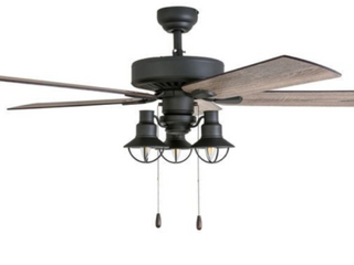 The Gray Barn Stormy Grain Aged Bronze 5 Blade Ceiling Fan  A2