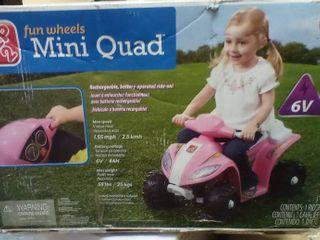 Step 2 Fun Wheels Mini Quad  A3