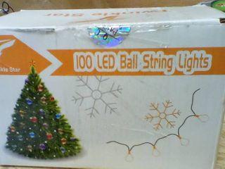 33ft 100 lED Ball String lights  A3