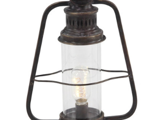 Industrial Brown Metal Electric lantern  A3