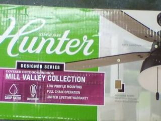 Hunter 52 inch Mill Valley Collection  A1