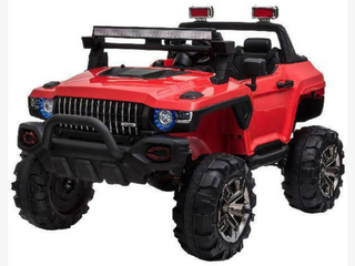 Aosom 12V Kids Electric Ride On SUV Truck RED  B3