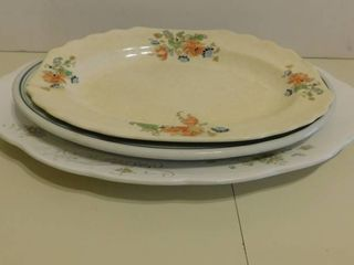 Serving Platters  3 ea