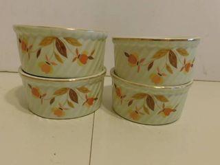Jewel Tea Fruit Bowls  4 ea
