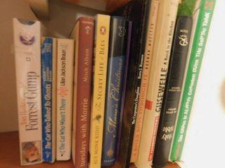 Movie DVD   Books  11 ea