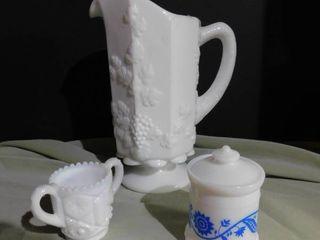 Milk Glass Items