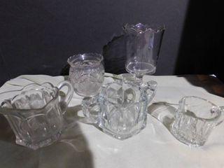 Crystal   Glass  5 pcs