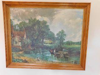 Oil Print on Canvas