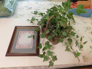 Artificial Ivy Basket   Picture