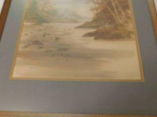 Bernhard Watercolor Reproduction