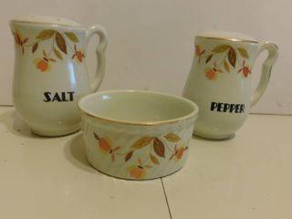 Jewel Tea Salt   Pepper Set   Fruit Bowl