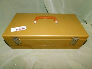 Metal Storage Box  2 ea