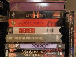 VHS   Movie DVD s
