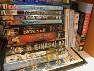 VHS   Movie DVD s   Books
