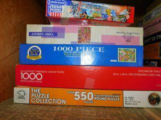 Jigsaw Puzzles  5 ea