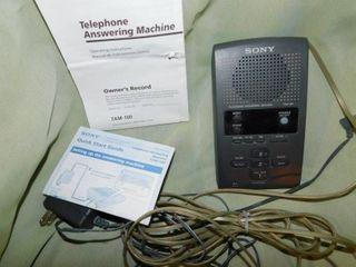 Sony Answering Machine