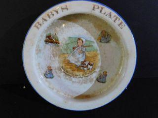 Antique Child s Dish