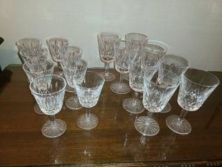 16 pcs  glass set  8   10oz  Glasses and 8   6oz  Glasses