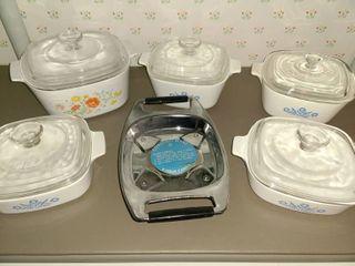 11 pcs  Corning Ware Bake Set