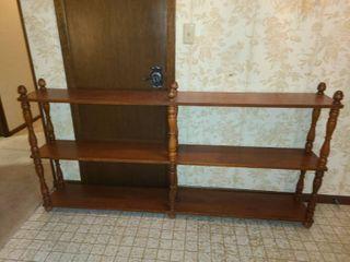 Book Shelf 6 Shelves  36 x 70 5 x 10
