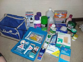 Various Health and First Aid Products