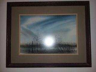 Field Framed Art