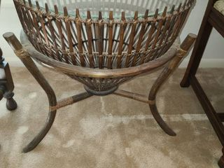 This Fish Trap Table 22 x 20 5