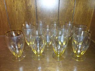 Yellow Glasses lot of 12