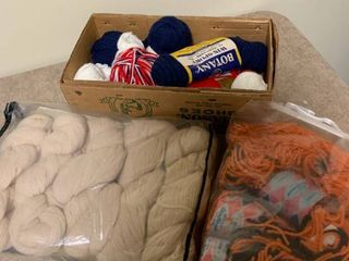 Assortment of yarn