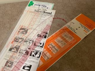 Taylor board and fashion rulers
