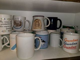 16 Miscellaneous Coffee Cups