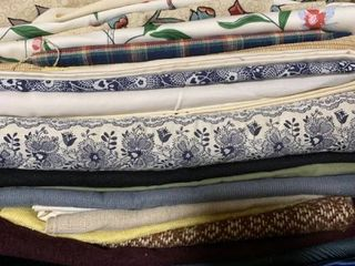 Assorted fabric