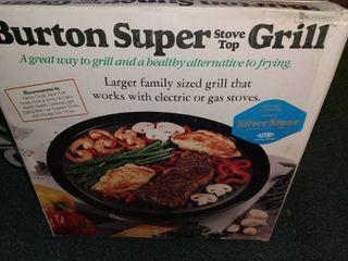 Burton Super stove top Grill