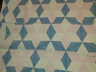 Very Old Quilt 74 x 71