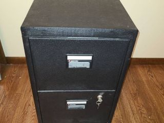 SENTRY Record PROTECTION Cabinet  VERY NICE and HEAVY  Also has key  28 x 17 x 23