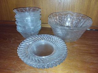 Glass Bowls and Plates