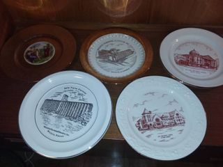 Gold Accented Plates