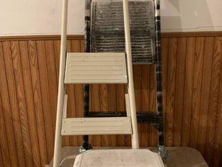 Step ladders in stool