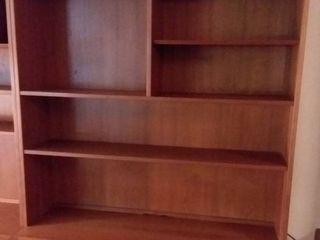 Danish Furniture Wood Bookcase 78 x 55 x 17 in
