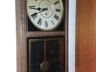 Waterbury Clock Company Wall Clock 33 x 16 x 5 in