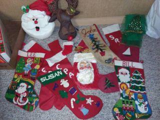 Christmas Stockings and Decor