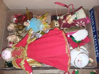 Christmas Tree Toppers and Assorted Decor