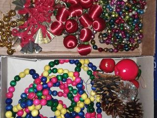 Christmas Garland Strands of Various Types
