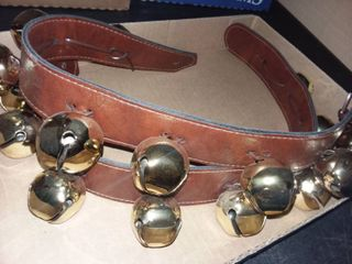 Sleigh Bells on leather Straps